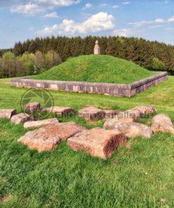 Grabhügel aus der Römerzeit von Oberlöstern, Saarland - Bildtankstelle.de