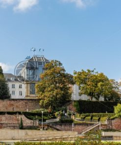 Schloss in Saarbrücken, Saarland - Bildtankstelle.de