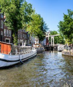 Sommer in Amsterdam, Holland - Bildtankstelle.de