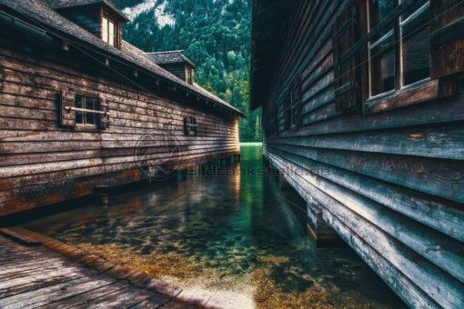 Fischerhütten am Königssee - Bildtankstelle.de
