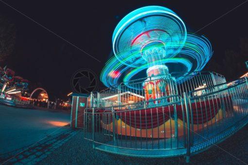 Lightpainting Karussell - Bildtankstelle.de