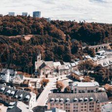 Luxembourg Panorama Aussichtsplattform - Bildtankstelle.de
