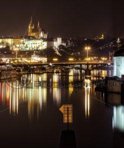 Prag bei Nacht - Bildtankstelle.de