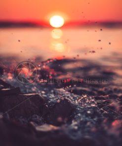 Sonnenuntergang am Meer - Bildtankstelle.de