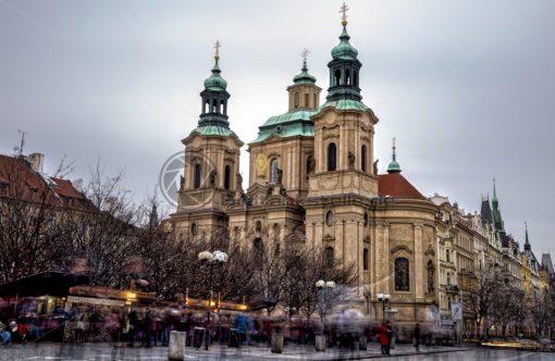 St. Nikolaus Kirche in Prag - Bildtankstelle.de