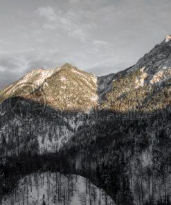 Alpenglühen - Bildtankstelle.de