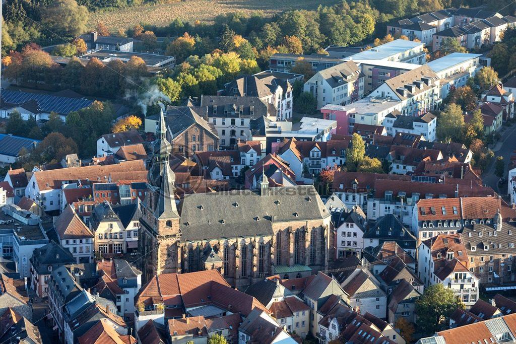Altstadt von St. Wendel mit Basilika - Bildtankstelle.de