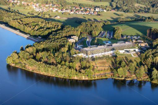 Die Seezeitlodge in Gonnesweiler, Bostalsee, Saarland - Bildtankstelle.de