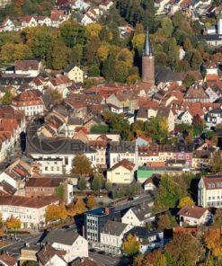 Historische Altstadt von Ottweiler, Saarland - Bildtankstelle.de
