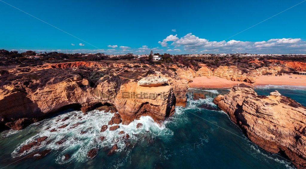 Küstenpanorama Algarve II - Bildtankstelle.de