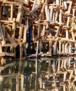"""Kunstprojekt von Martin Steinert am GegenOrt """"Wassergarten Landsweiler Reden"""" - Bildtankstelle.de"""
