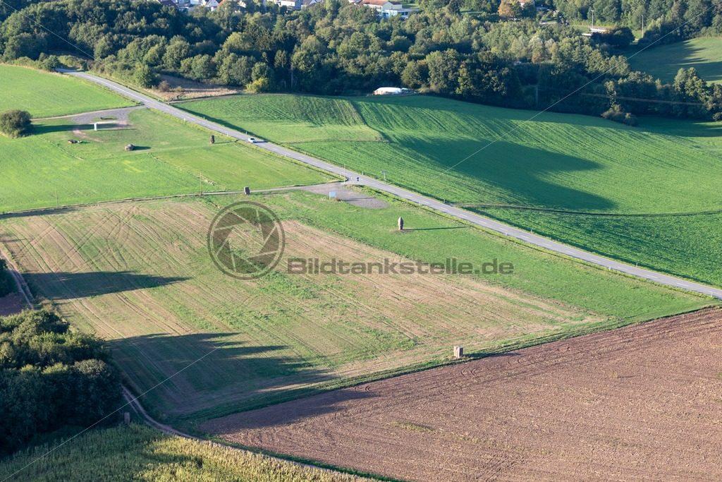 Luftaufnahme, Straße der Skulpturen (St. Wendel) - Bildtankstelle.de