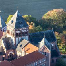 Luftaufnahme vom Missionshaus St. Wendel, Saarland - Bildtankstelle.de