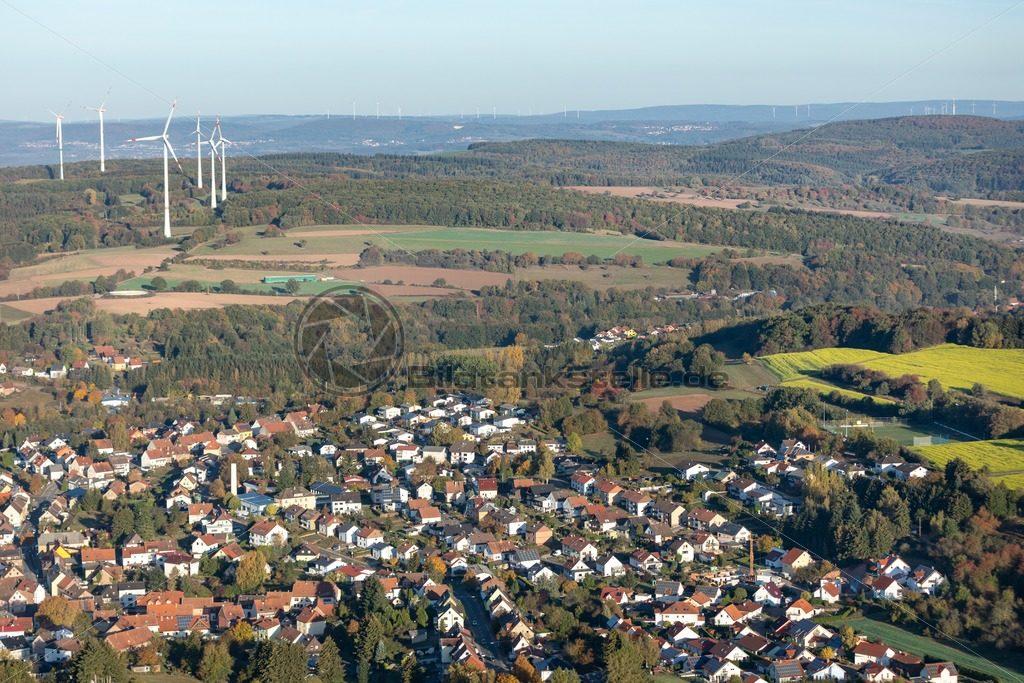 Luftaufnahme von Fürth im Ostertal, Saarland - Bildtankstelle.de