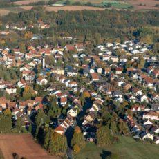 Luftaufnahme von Fürth und dem Ostertal, Saarland - Bildtankstelle.de