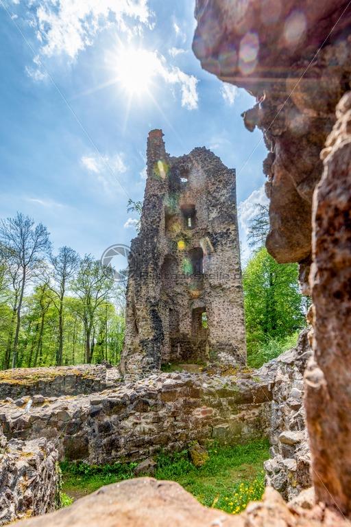 Burgruine Dagstuhl - Bildtankstelle.de