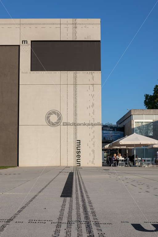 Saarlandmuseum, Moderne Galerie, Saarbrücken - Bildtankstelle.de