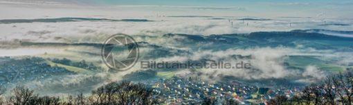 Wolkenmeer am Schaumberg, Nähe Tholey, Saarland - Bildtankstelle.de
