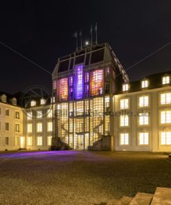 Abendstimmung am Saarbrücker Schloss, Saarland - Bildtankstelle.de