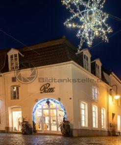 Weihnachten am St. Johanner Markt, Saarbrücken, Saarland - Bildtankstelle.de
