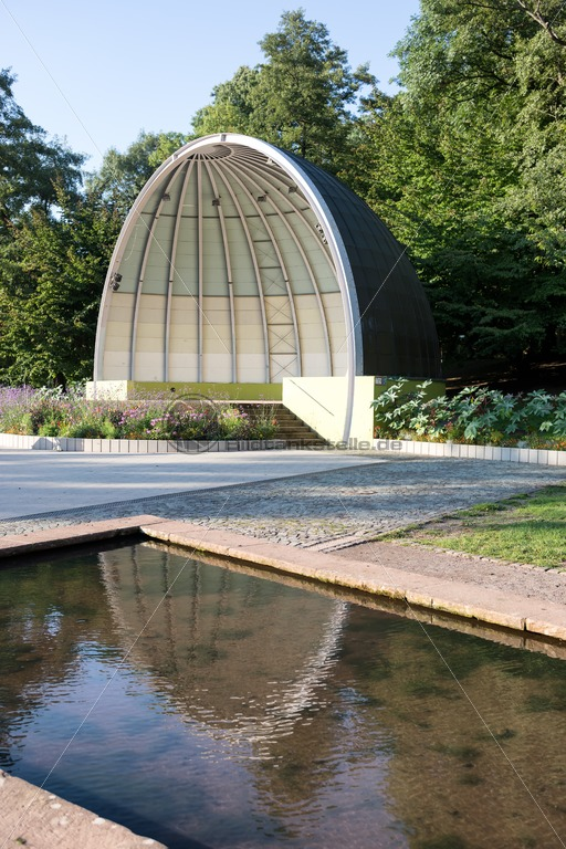Pavillon im Deutsch-Französischen Garten, DFG, Saarbrücken, Saarland - Bildtankstelle.de