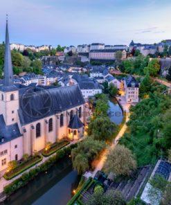 Benediktinerabtei Neumünster, Grund Luxemburg - Bildtankstelle.de